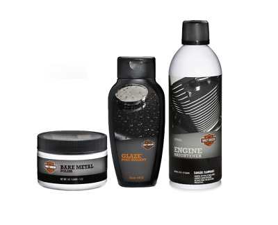 Harley-Davidson Motorcycle Tank / Engine Cleaning Gift Package