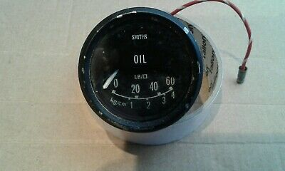 smiths oil pressure gauge land rover ,ford ,range rover and B M C