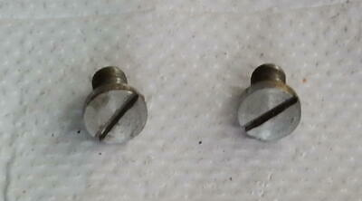 Singer Sewing Machine Potted Motor - 2 Mounting Screws for 201 & 15-91