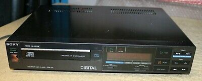Vintage Sony CDP-30 Single Tray Compact Disc CD Player 1980s Retro