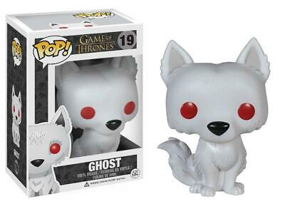 Pop! Game of Thones Ghost Figure Funko 3rd Edition GOT #19 Direwolf Vinyl DEALS