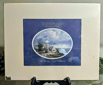 Thomas Kinkade Light of Peace and A Light in the Storm Print Gift Set