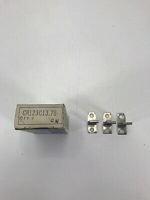 New Set of 3 General Electric CR123C137B Thermal Overload Heaters
