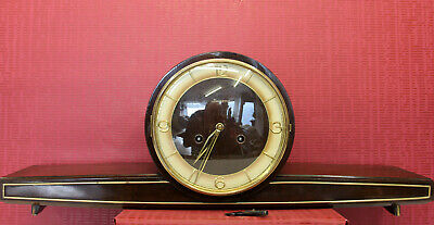 Antique Table Clock Mantel Clock*German clock *original JUNGHANS*