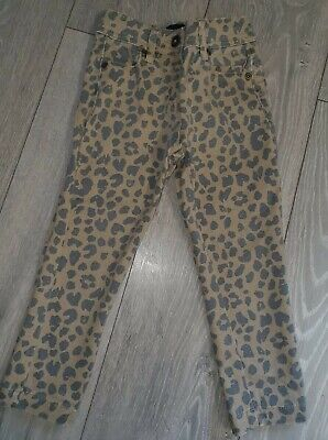 Girls Next Age 2-3 Years Leopard Print Skinny Jeans