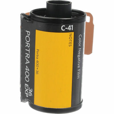 Kodak Professional Portra 400 Color Negative Film (35mm Roll Film, 1 Roll)