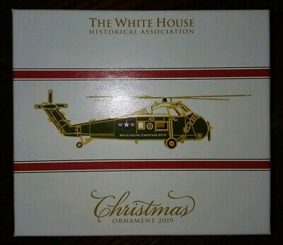 Christmas Ornament 2019 The White House Sikorsky Presidential Helicopter Eisenho