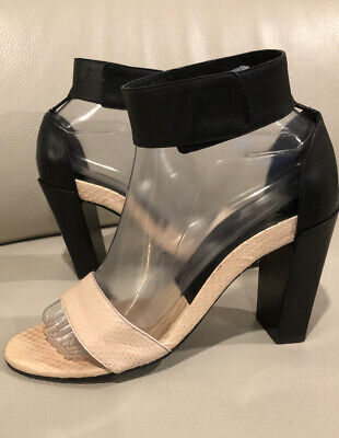 Details about PRADA VTG,Brown Leather, Leaves & Vines, High Heel Sandals 39,5 Retail 889.99