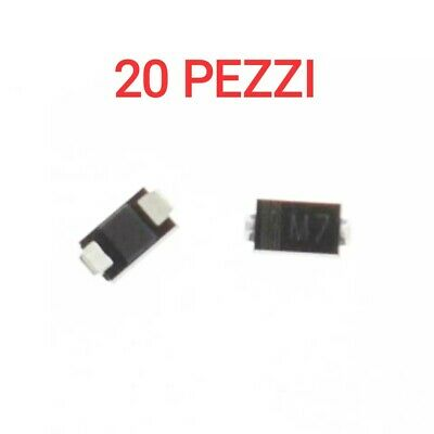 SM4007 STANDARD RECOVERY SMD RECTIFIERS DIODES 1000V DO-213AB QTY: 50 PEZZI