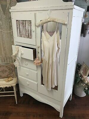 Cottage Style Shabby Chic Armoire