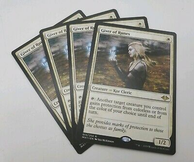 MTG MODERN HORIZONS MH1 CHINESE GIVER OF RUNES X1 MINT CARD