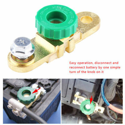Auto Car Battery Link Terminal Quick Cut-Off Disconnect Master Kill Shut Switchs
