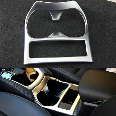 Water cup holder decoration trim cover for Nissan Rogue X-Trail 2014-16 2.0T