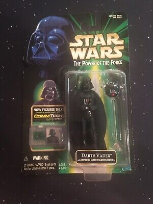 Star Wars Darth Vader The Power Of The Force POTF 1999 CommTech
