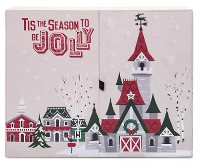 NEW Disney Parks Christmas Holiday Pins Collection Advent Calendar Pin Set 2019