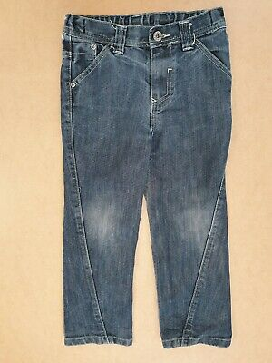 Ff827 Boys Duck & Dodge Faded Blue Straight Leg Denim Jeans Age 7 Years W23 L20