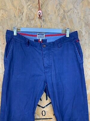 JOULES, Mens W32 L32, Navy, Tapered Fit, Casual Trousers/Chino's,*GC*