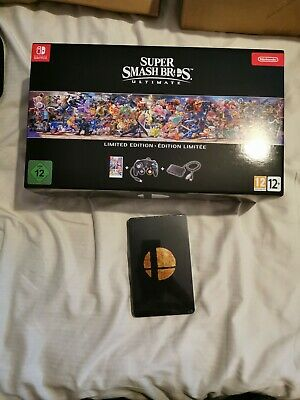 Super Smash Bros. Ultimate Limited Edition + Steelbook Nintendo Switch New