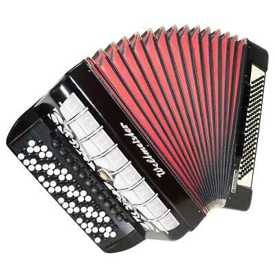 5 Row Weltmeister Grandina, German Button Accordion, Bayan 120 Bass, Straps 1208