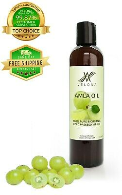 AMLA OIL 100% PURE & ORGANIC VIRGIN VELONA 8 oz
