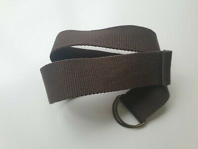 NEXT Boys Brown  Canvas Belt Belts  Age 6 Years  27 inches