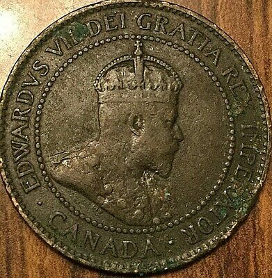 1904 Canada Large Cent Coin Large 1 Cent Penny