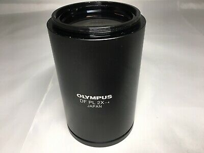 Olympus Stereo Microscope  Objective DF PL 2X-4 f/SZX Series #2
