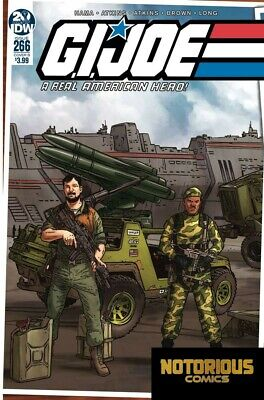 GI Joe Real American Hero #266 Cover B IDW Comics 1st Print EXCELSIOR BIN
