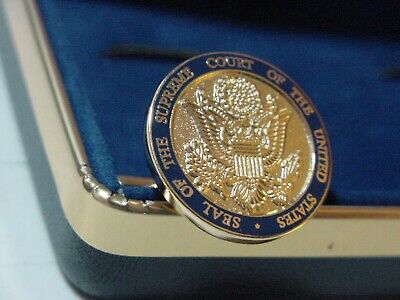 Us Supreme Court Cufflinks -New