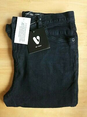 V by Very Black Skinny Jeans Size Age 15 New with Tags