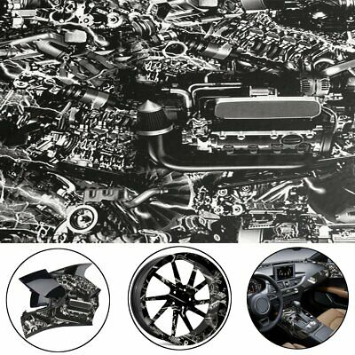 Hydrographic Engine Machine Style Water Transfer Hydro Dipping DIP Print Film
