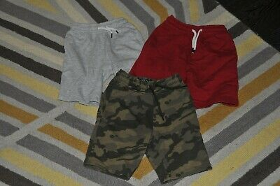 Boys Next 3 Pairs Of Jersey Shorts Size 6 Years