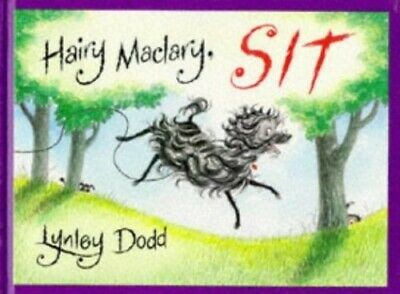 Hairy Maclary, Sit by Dodd, Lynley Hardback Book The Cheap Fast Free Post