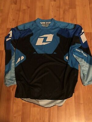 One Industries Carbon MX Motocross Jersey Shirt XL ***Free Shipping