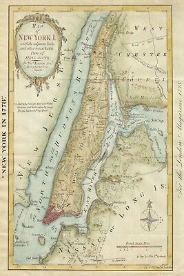 Chicago Map 1900 Trails and Villages Reproduction Multiple Sizes11x17-24x36