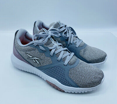 Reebok Women's Flexagon Force Cross Training Sneakers Cold Grey / Lilac Fog *