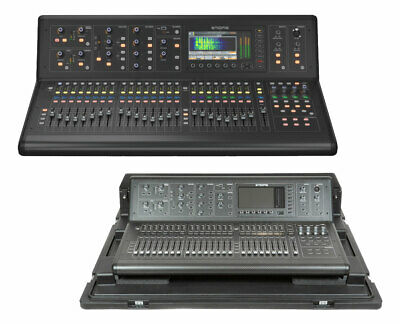 Midas M32 40-Channel Live Digital Mixer + SKB 1RMM32-DHW Doghouse Flight Case