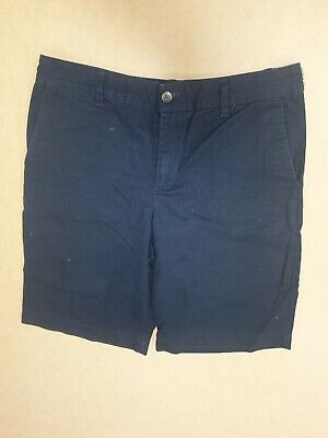 Ff853 Boys Polo Ralph Lauren Blue Cotton Chino Shorts Age 16 Years W30""