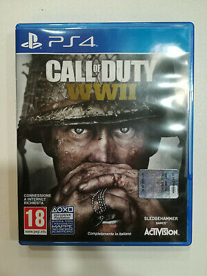 Call Of Duty Wwii World War 2 Ii Cod - Ps4 Playstation 4