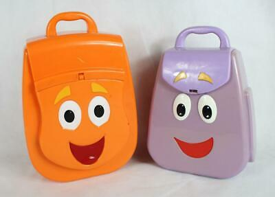 Dora The Explorer backpack & Go Diego Go rescue pack Talking carry cases