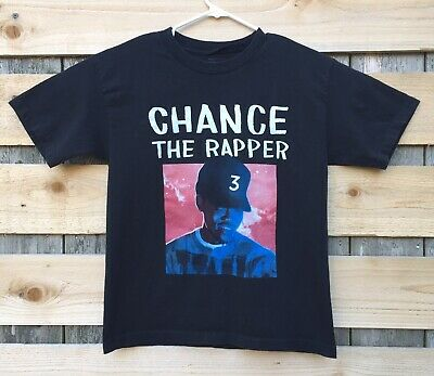 Chance The Rapper Magnificent Coloring World Tour Official T-Shirt Size Small