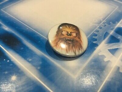 Star Wars Collectible Lapel Pin Button Badge - Chewbacca Wookie Portrait