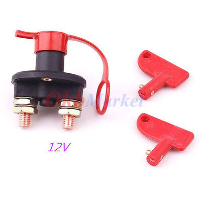 Car Truck Camper Battery Isolator Disconnect Cut Off Power Kill Switch