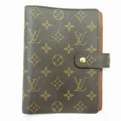 Louis Vuitton Monogram agendaMM R20105 Notebook cover Free Shipping [Used]