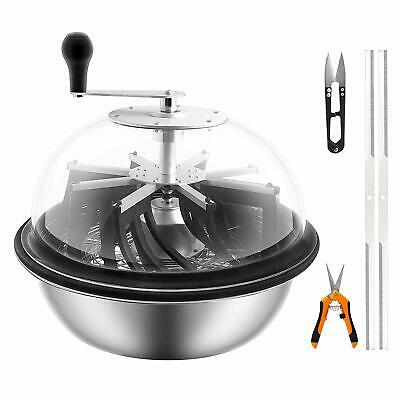 VIVOSUN19'' Bud Leaf Bowl Trimmer- Clear Visibility Dome& Sharp Stainless Steel