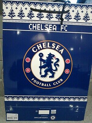5 Large Chelsea Football Club Christmas Gift Bags Official Merchandise