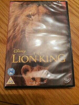 The Lion King [DVD] new and sealed genuine UK DVD