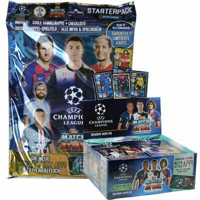 Topps Champions League 2019/20 - Trading Cards - Display + Starter