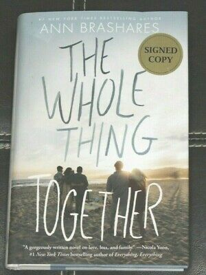 The Whole Thing Together by Ann Brashares Signed Copy - New Other