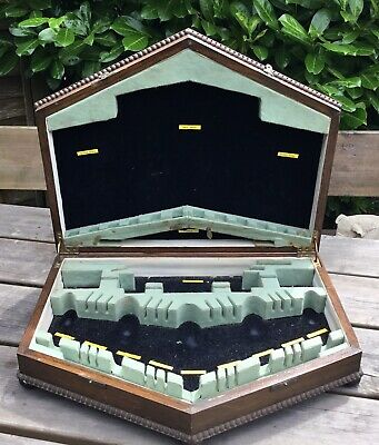 Old Vintage 1930s Large Oak 5 Sided Empty Cutlery Box